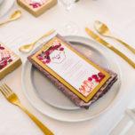 Hochzeitsdekoration in Rosa Pink Brombeere - Frl. k sagt Ja3