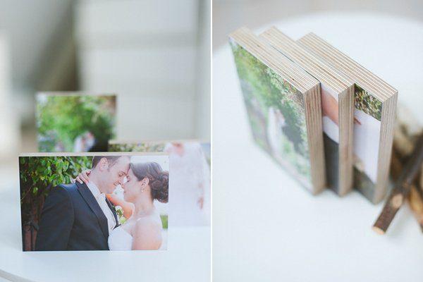 Hochzeitsfotos auf Holz von whitewall2