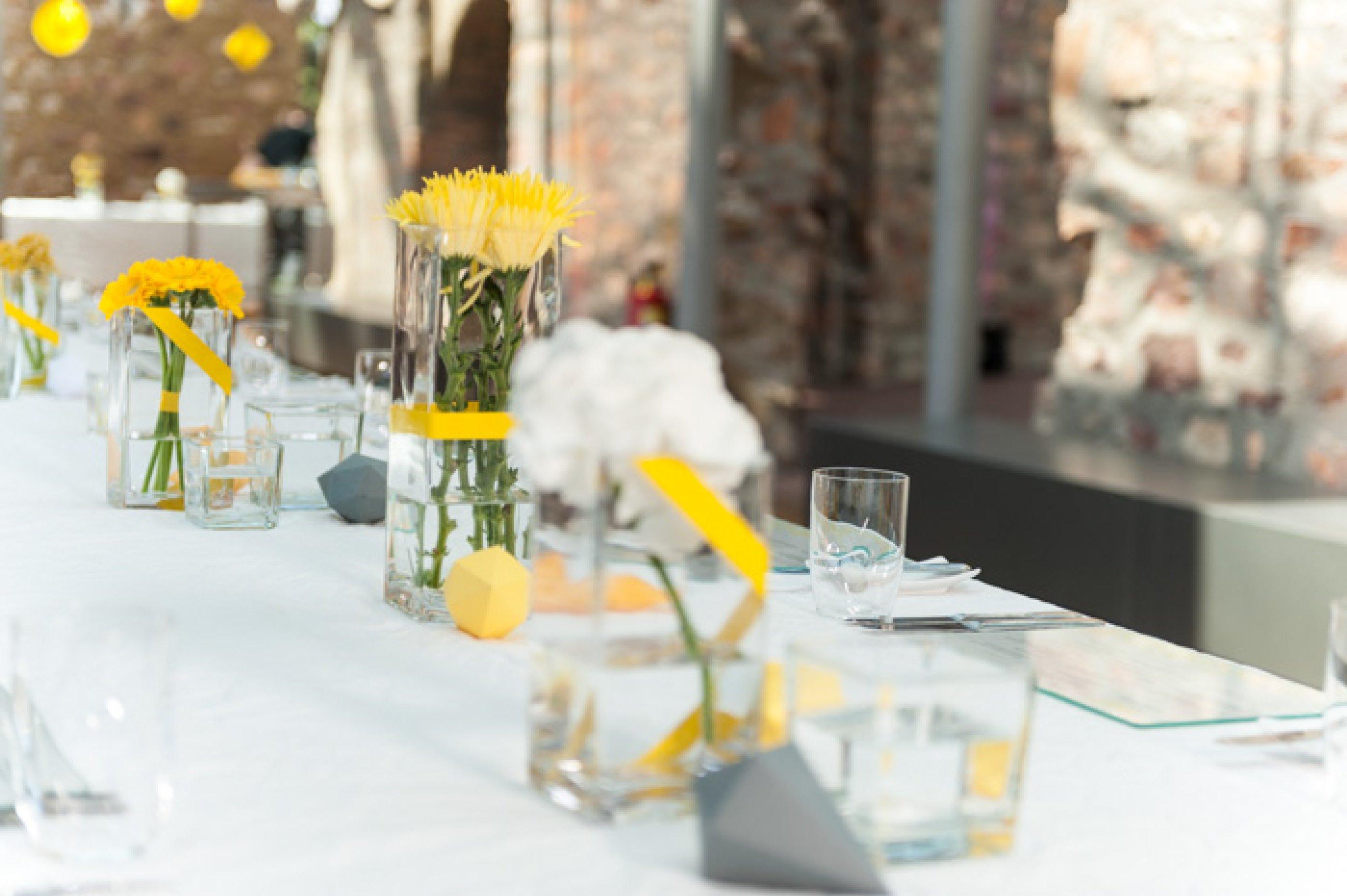 Hochzeitslocation Jagdschloss Platte dekoriert von blickfang event design5