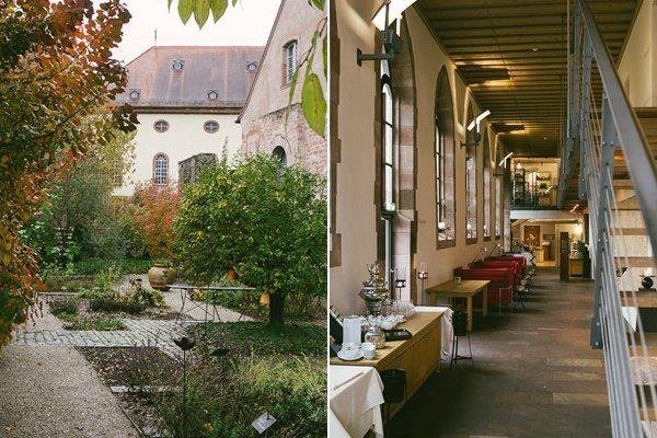 Hochzeitslocation Standesamt und kirchliche Trauung in Rheinland-Pfalz Kloster Hornbach9