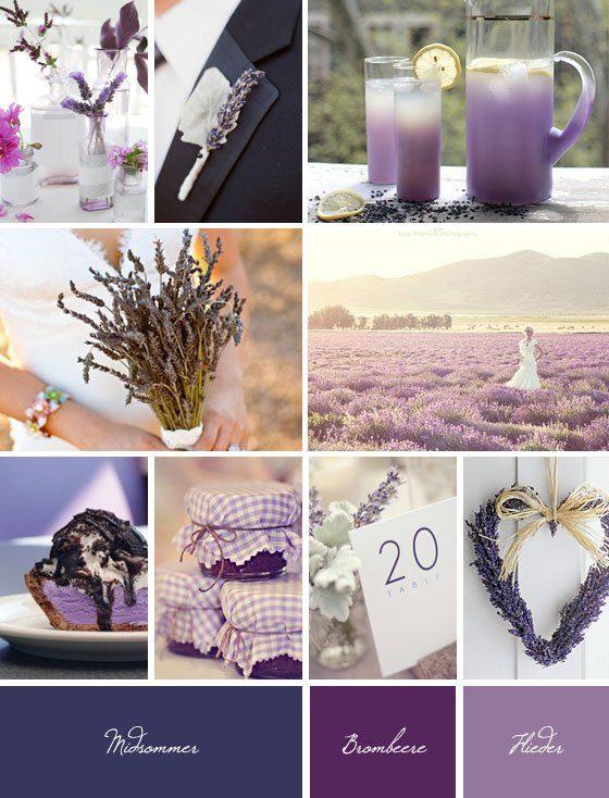 Dufte Idee: Lavendel wird zum Hochzeitstrend