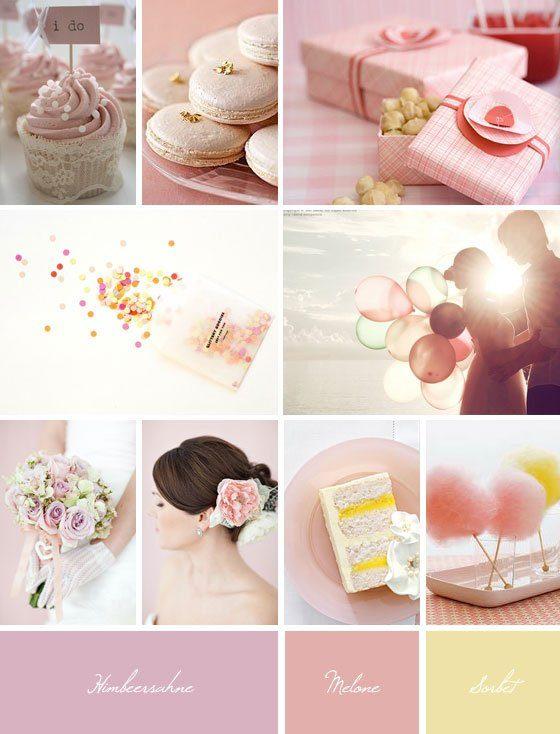 Ideaboard: Süße Träume In Rosa   Gelb   Pastell   Hochzeitsblog . Design Inspirations