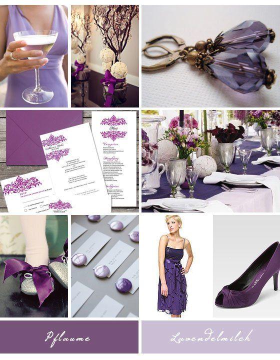 """Hochzeitsfarbe lila und lavendel"
