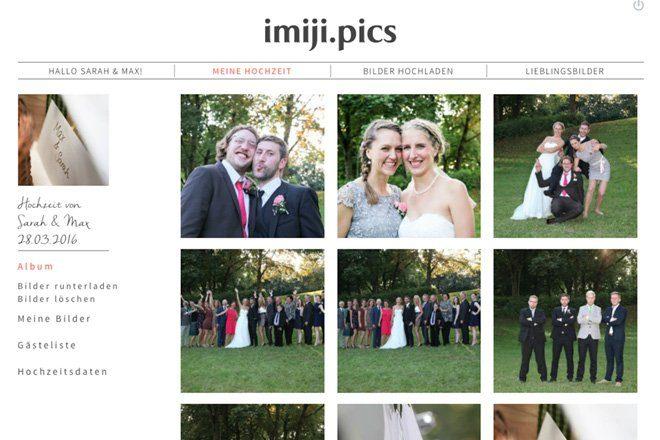 Hochzeitsfotos Sicher Sammeln Und Teilen Imiji Fraulein K Sagt