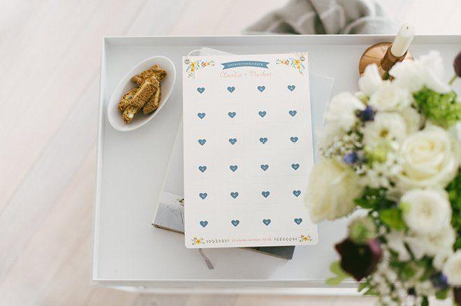 Individueller Hochzeitskalender