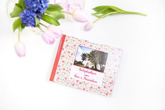 Geschenkidee: Ein individuelles Hochzeitsalbum