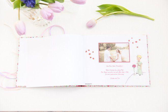 Individuelles Hochzeitsalbum von Geschenkeschatz2