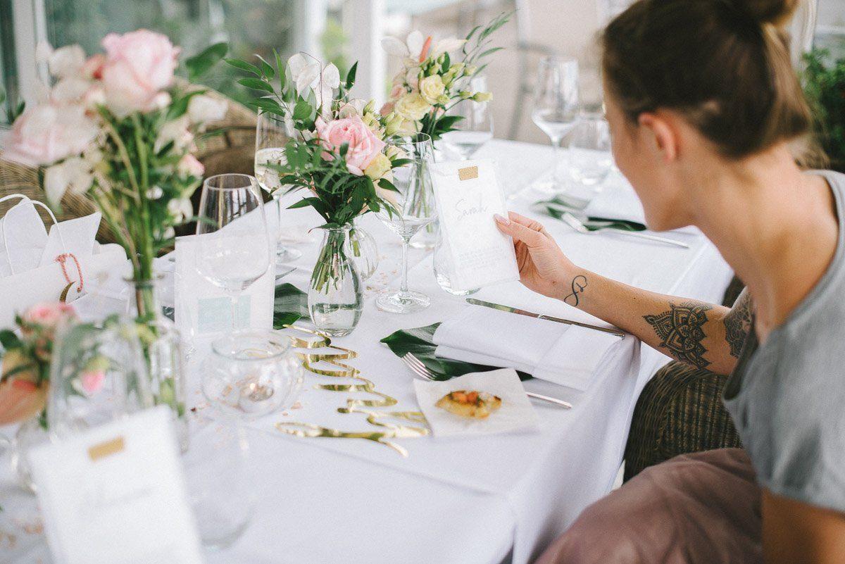 Eine Schöne Idee Von Eva, Die Unter Ihrem Label Zweiklein Wunderbare  Hochzeitspapeterie Entwirft.