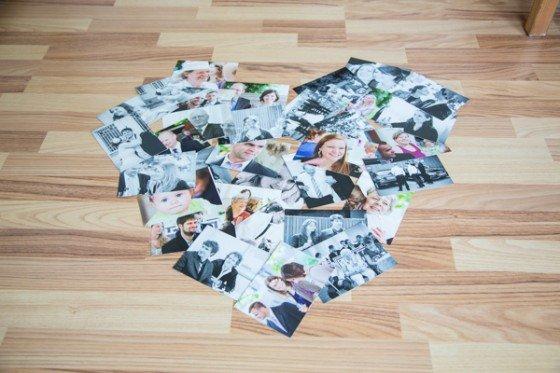 Ein Jahr später… Überraschungspost mit Hochzeitsfotos