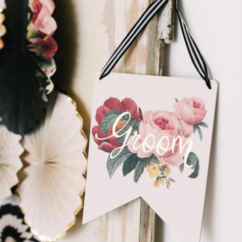Hochzeitsdekoration Botanical Frl. K sagt Ja