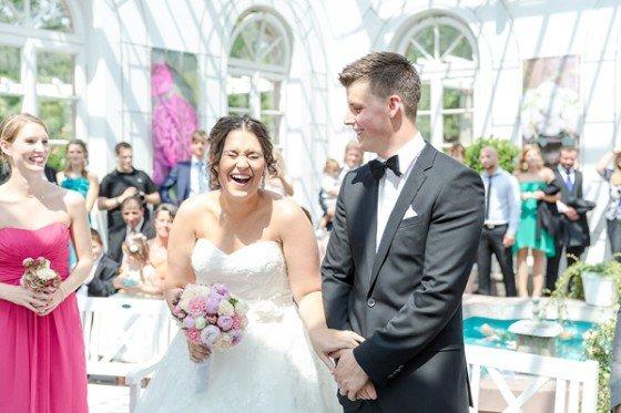 Pretty in Pink, eine Hochzeit von Nicole Mattinger