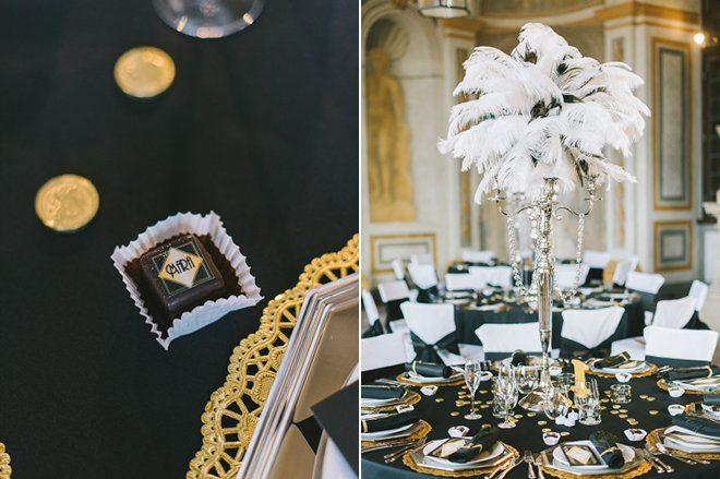 Katja Heil Fotografie - Great Gatsby Hochzeit im Schloss Bruchsal21