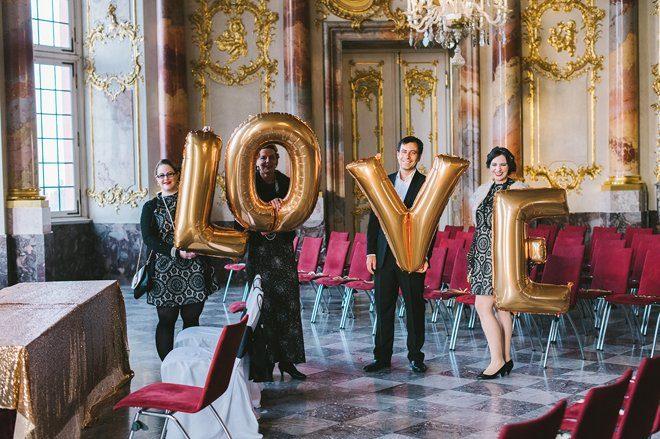Katja Heil Fotografie - Great Gatsby Hochzeit im Schloss Bruchsal31