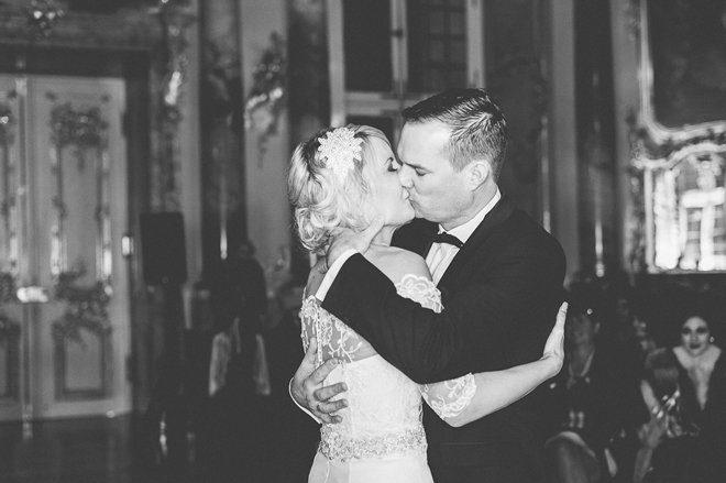 Katja Heil Fotografie - Great Gatsby Hochzeit im Schloss Bruchsal43