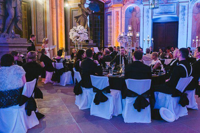 Katja Heil Fotografie - Great Gatsby Hochzeit im Schloss Bruchsal49