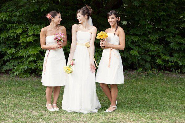 Kleider für die Brautjungfern