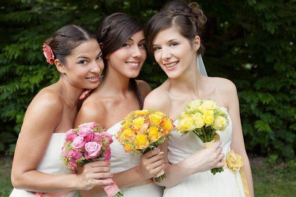 Kleider für die Brautjungfern3