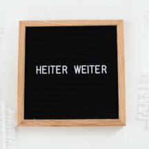 Letterboard Holzrahmen Eiche-1