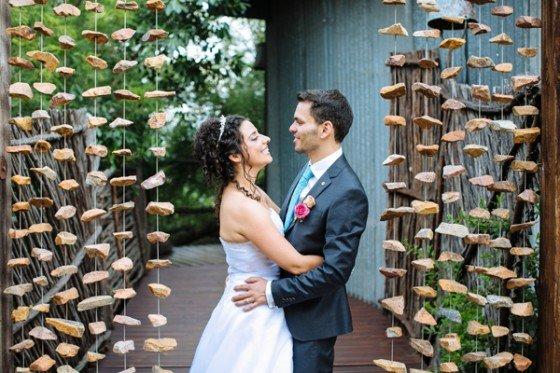 Eine Hochzeit in Südafrika
