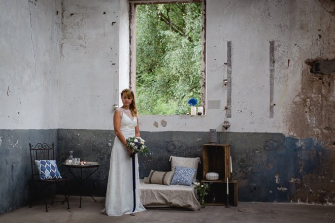 Marokko meets Industrial Hochzeitskonzept