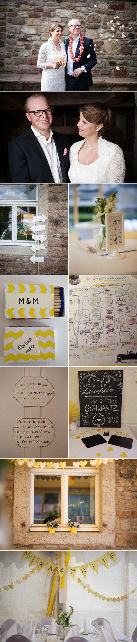 Ganz schön praktisch: Hochzeitserinnerungen, gesammelt von Gästen und Brautpaar