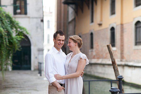 Verlobungsshooting in Venedig Nina Reinsdorf