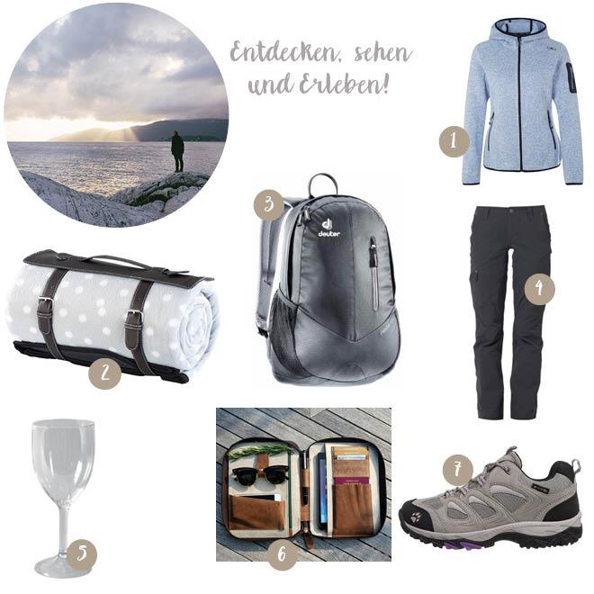 Packen für die Flitterwochen mit Rucksacktour