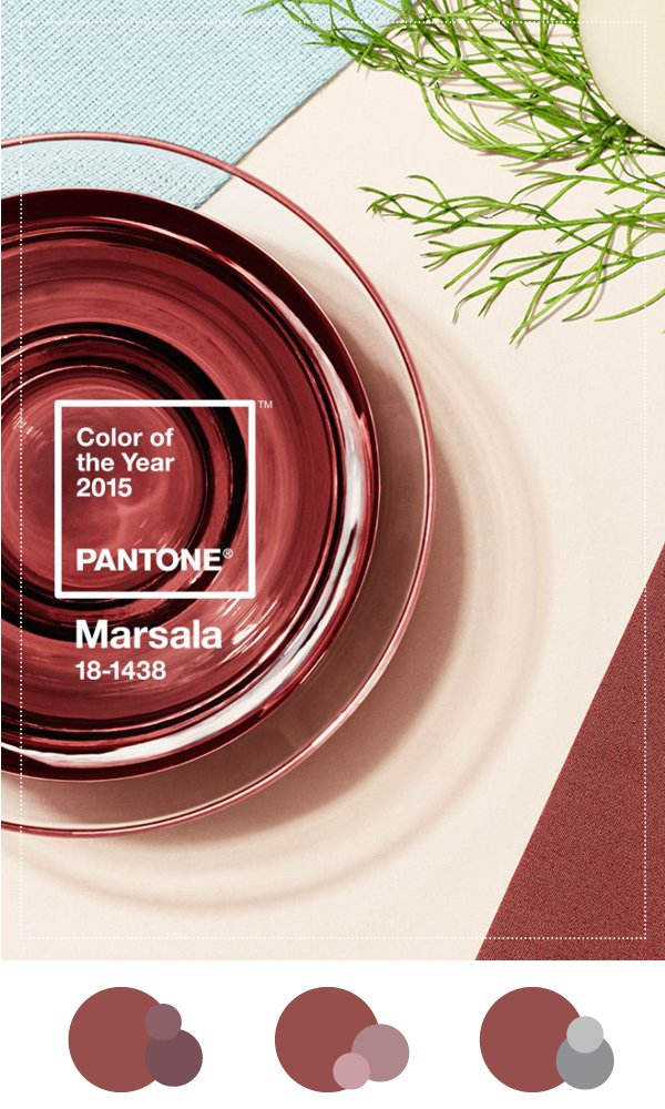 Pantone Color of the Year 2015