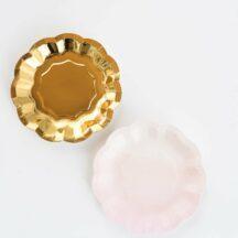 Pappbecher Set Gold Rosa-1