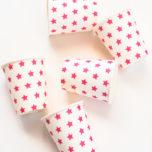 Pappbecher Sterne pink-2