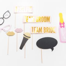 Photobooth Props pastell