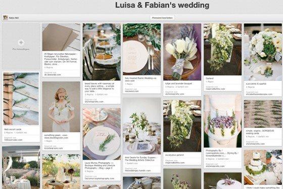 Ideen, Inspiration, Interessen – Such(t)gefahr bei Pinterest