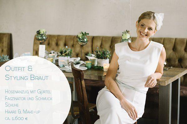 Preis Outfit und Styling Hochzeit