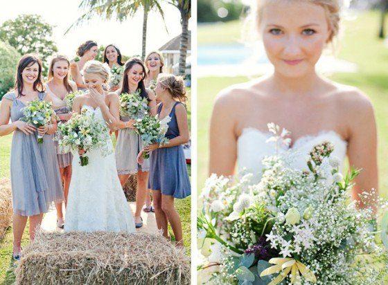 Eine Hochzeit auf dem Land