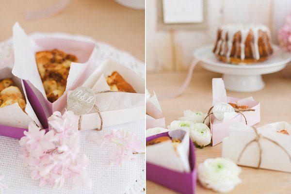 Romantische Hochzeitsdeko Vintage Kuchenbox Frl. K sagt Ja