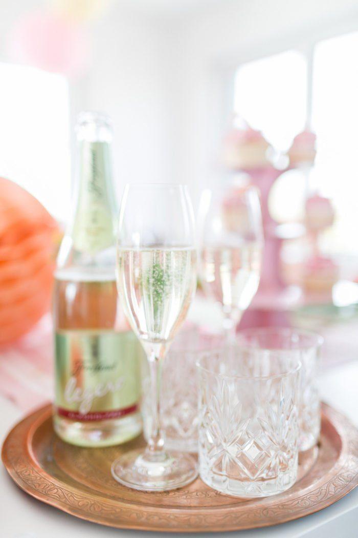 Alkoholfreier Sekt Baby Party Schwangere