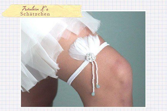 Как сделать повязку на ногу своими руками на свадьбу