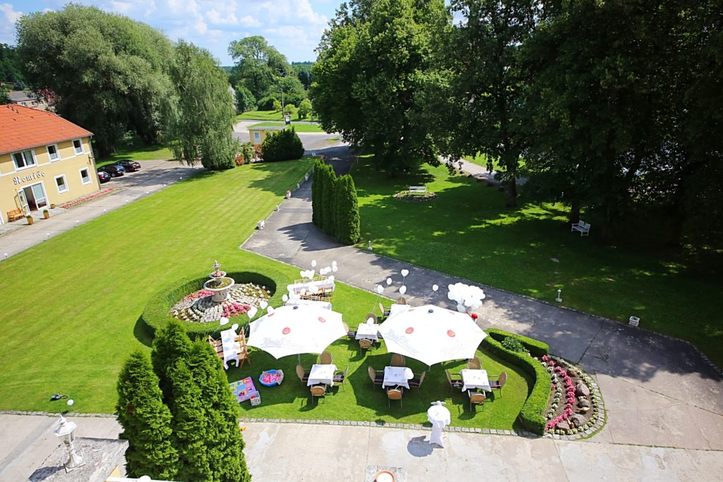 Schloss Wulkow Garten