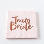 Serviette Team Bride Rosegold-1