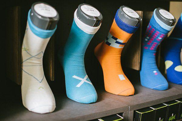 Socken für den Bräutigam von Jungfeld8