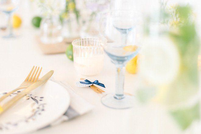 Sommerfrische Party Dekoration gelb blau3