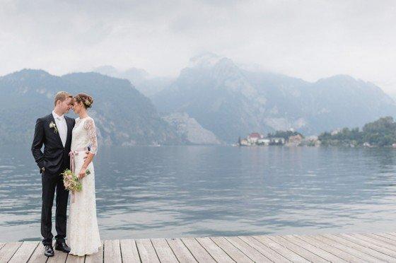 Romantische Hochzeit am Traunsee – Julia Kollmann Fotografie