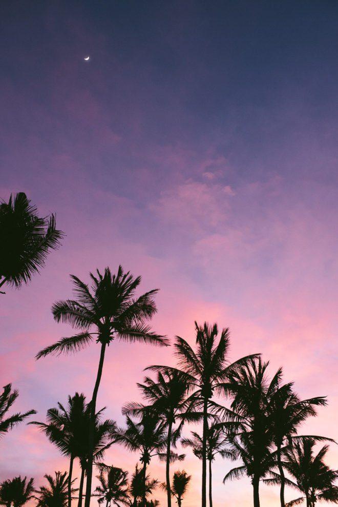 Pink and Blue Sky at Shangri La's Hambantota