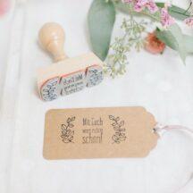 Stempel für die DIY Hochzeit