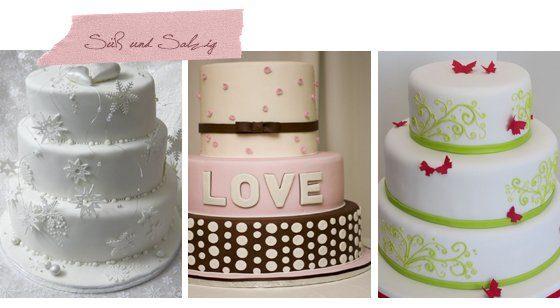 Darf's ein bisschen Kuchen sein? Hochzeitstorten 2.0