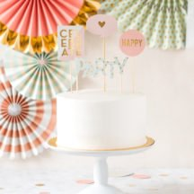 Cake Topper Set Party