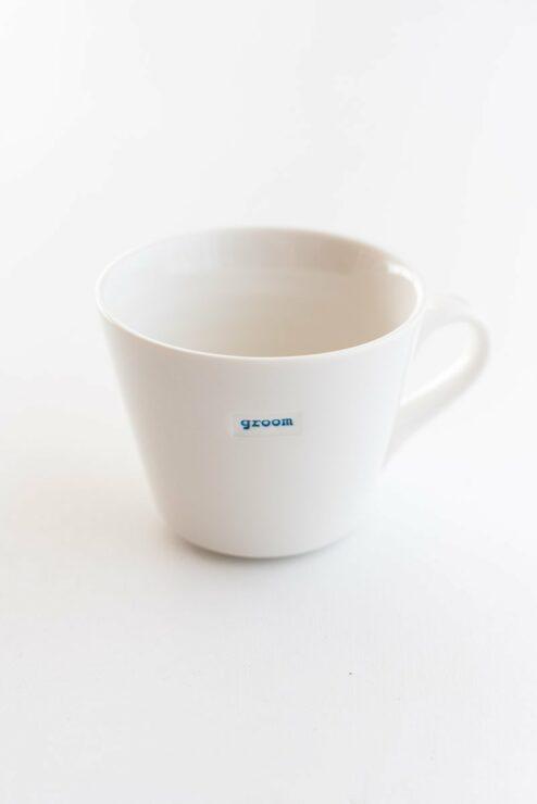 Groom Tasse für den Bräutigam