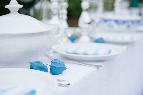 Tischdeko blau selbst gemacht Blogger Karlsruhe10