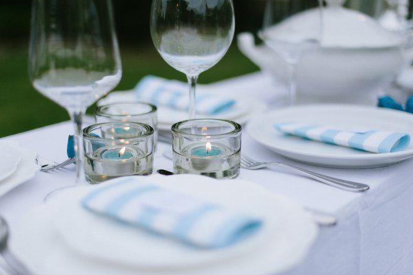 Tischdeko blau selbst gemacht Blogger Karlsruhe12