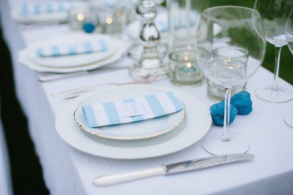 Tischdeko blau selbst gemacht Blogger Karlsruhe13